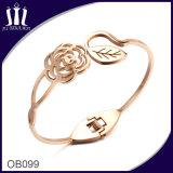 Stainless Steel Flower Bracelet Ob099