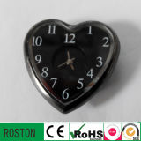 Fashion Heart-Shaped Clock with RoHS CE