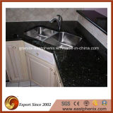 Professional Manufacture Black Galaxy Countertop for Kitchen