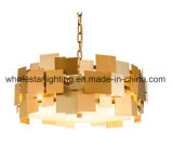 Metallic Chandelier with Mixed Colors Shades (WHP-0060)