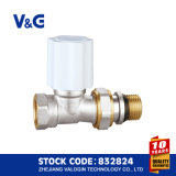 China Angle Brass Thermostatic Radiator Valve (K. 5104)