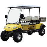 Electric Lifted Car/Cart/Buggy, Sightseeing Car, Utility Vehicle (DEL2042DH, 4-Seater)