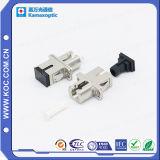 Sc-LC Duplex Metal Hybrid Fiber Optical Adapter