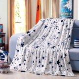 Home Soft Flannel Bed Sheet Set and Flannel Mink Blanket