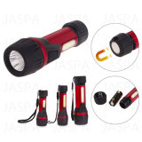 Aluminum COB LED Flashlight (12-1Y1706)
