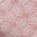 Chinese Style Peony Flower Design Allover Lace Perfect for Wedding Dresses & Evening Gowns