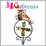 Harvest Owl OEM Metal Garden Wind Spinner Stake