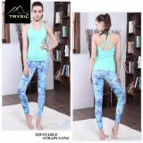 Quickly Dry Fitness Polyester Women Vest for Sports Yoga