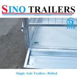 China Manufacturer Attractive Price Single Axle Bolted Trailers