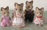 Sylvanian Family Plush Stuffed Toy Doll for Gift