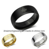 Mosanic Stainless Steel Ring Comfort Fit Custom Made Stainless Steel Ring