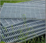 Hot Dipped Galvanized Trench Bar Welded Walking Steel Grating