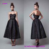 Black Sweetheart Princess Evening Dress
