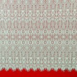 Colorful Embroidery Chemical Mesh Lace Fabric Polyester African Printed Fabric for Spring Dress