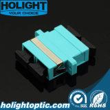 Fiber Optic Adaptor Sc Duplex Multimode Om3 Aqua