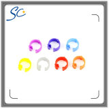 Custom Colorful Plastic Clip Bird Ring for Aves Management