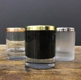 Machine Made Glass Candle Holders with Lids