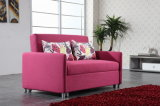 Living Room Leisure Fabric Three Folded Sofa Bed