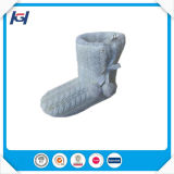 Warm Cable Knitted Indoor Winter Boots for Women