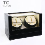 4+0 Wooden Motors Rotate Automatic Mechanical Watch Winder