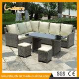 Top Quality Synthetic Rattan Outdoor Garden Furniture Corner Sofa Set
