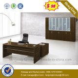 Dark Color Melamine Laminated Manager Office Desk (NS-ND004)