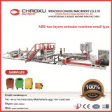 ABS Two Layers Plate Production Line Plastic Extrusion Machine for Luggage