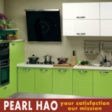 Small House Acrylic Wood Kitchen Cabinet Furniture