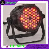 Outdoor Waterproof RGB 3in1 54 3W LED PAR Lights