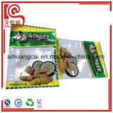 Side Seal Aluminum Foil Plastic Food Bag for Ginger