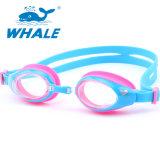 Kids Colorful Anti-Fog Silicone Swim Goggles