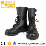 New Design Durable Black Leather Combat Boot