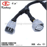 Automotive Wiring Harness with 6 Pin Deutsch Connector and Denso Connector Wd003