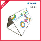 100*150cm Double Sided Promotional Outdoor a Banner Stand (LT-23)