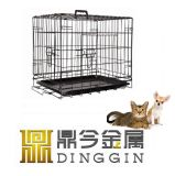 Animal Transport Cage with ABS Tray