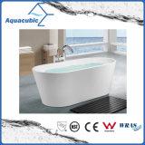 2 Sizes Ellipse Acrylic Freestanding Bathtub (AB6818-1)