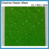3mm and 4mm Green Flora Patterned Glass