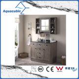 Plywood Vanity Cabinet with Undermount Ceramic Basin (ACF8906)