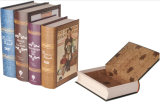 Book-Shaped Paperboard Storage Box (GB-023)