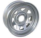 15X10 Spoke Galvanized Trailer Wheel 5-160