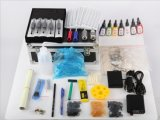 Tattoo Kit with 2 Rotary Digital Tattoo Machine Guns Set Equipment Power Supply