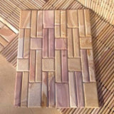 Sandstone Chamfer Stacked Stone Wall Panels (SMC-SCP478)