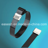 Stainless Steel Epoxy Coated Cable Ties (O Lock Type)