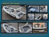 China Liya 7.5m Large Inflatable Boat Rigid Hull Inflatable Boat
