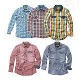 High Quality Men′s Check Casual Shirt (LL-S01)