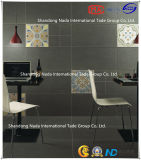 600X600 Building Material Ceramic Dark Grey Absorption Less Than 0.5% Floor Tile (G60705) with ISO9001 & ISO14000