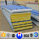 Prefabricated Building Material EPS/PU/Mineral Wool Sandwich Panel