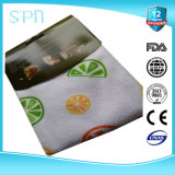 Customized Dye Printing Kitchen Microfiber Cleaning Towel