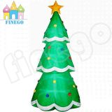 Giant Outdoor LED Inflatable Christmas Tree Decoration for Sale