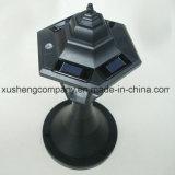 Powered by Solar Panel Solar Hexagonal Table Lamp